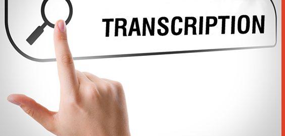 audio video transcription